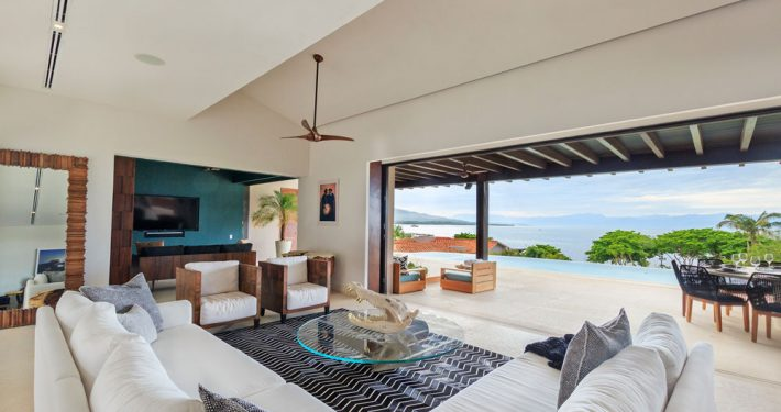 Villa Porta Fortuna - Luxury oceanfront vacation rental villa - Real estate for sale in Punta Mita