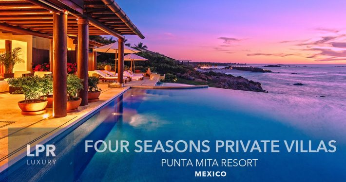 The Four Seasons Private Villas - Luxury resort vacation villas for sale and rent at the Four Seasons Punta Mita Mexico