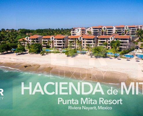 Hacienda de Mita - Luxury beachfront condos at the Punta Mita Resort, Riviera Nayarit, Mexico