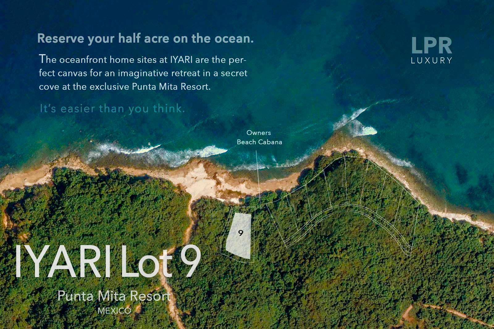 Iyari Estates - Lot 9 - Punta Mita Resort