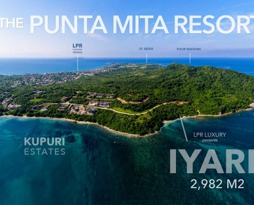 Iyari - Lot 9 - Punta Mita - Luxury real estate - Homes and homesite at the Punta Mita Resort