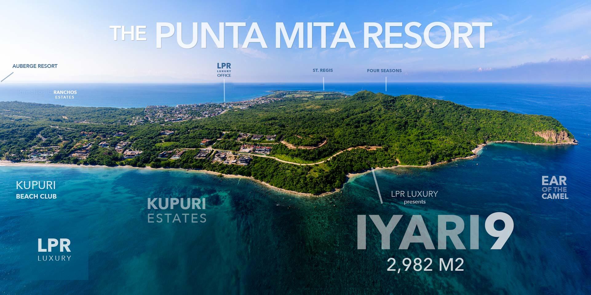 Iyari - Lot 9 - Punta Mita - Luxury real estate - Homes and homesite at the Punta Mita Resort