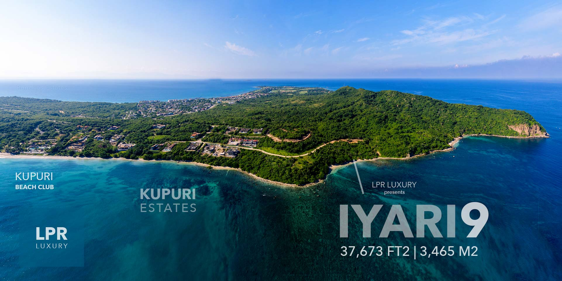 Iyari Estates 9 - Punta Mita Resort homesite building lot for luxury homes