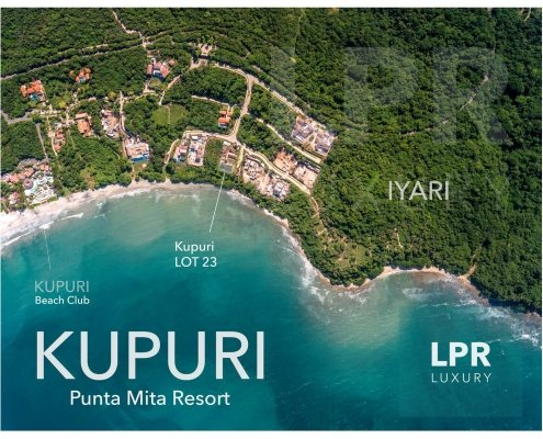 Kupuri Estates - Lot 23 - Luxury real estate for sale at the Punta Mita Resort, Riviera Nayarit, Mexico
