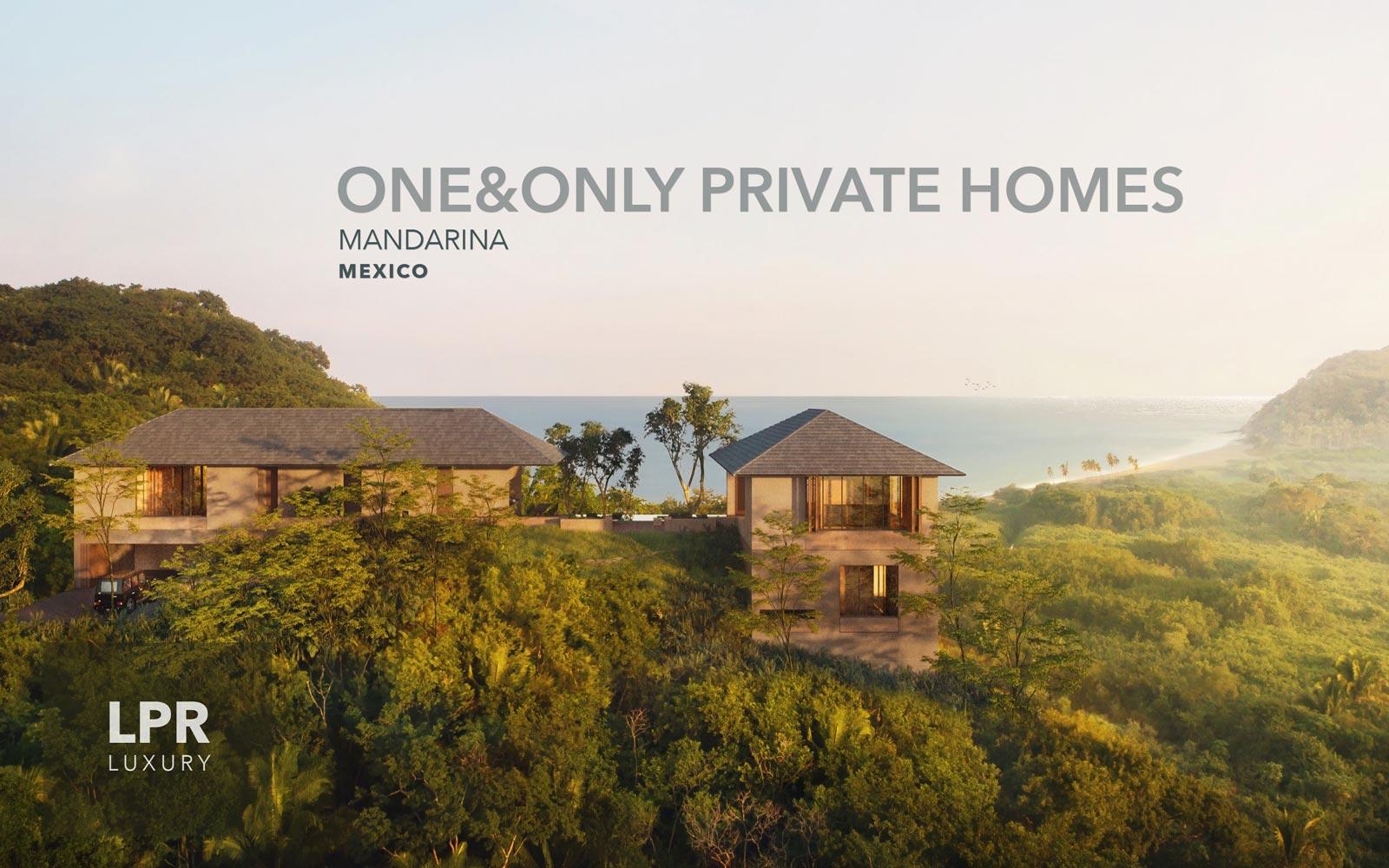 One only private homes mandarina mexico lpr luxury Mandarina home ponferrada