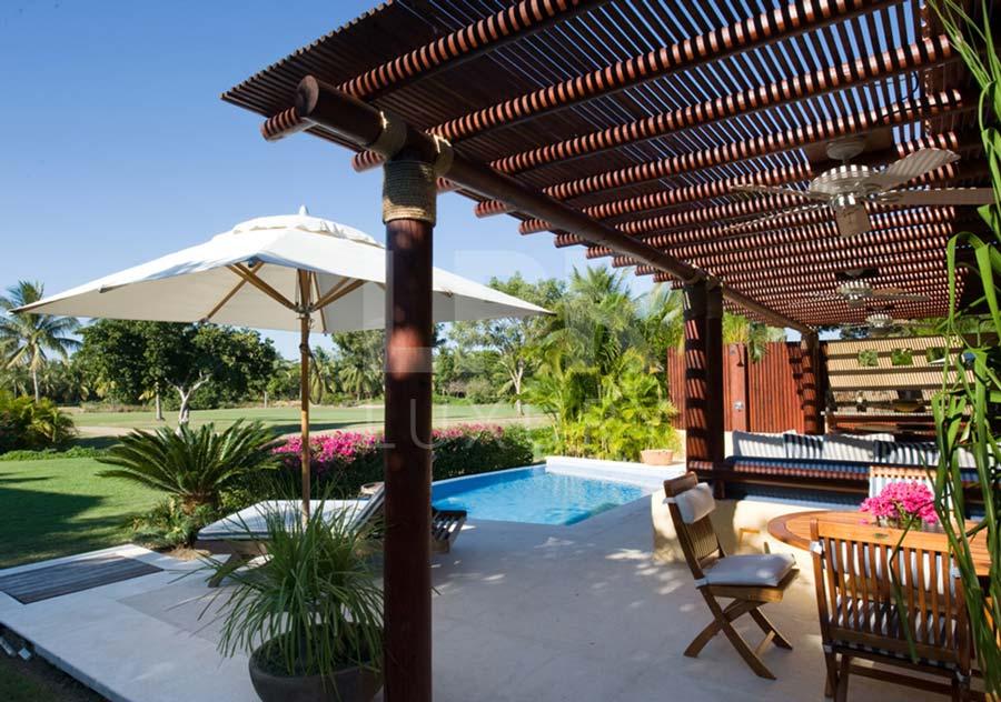 Villa Las Palmas 2 - Ocean view golf course villa at the Punta Mita Resort, Riviera Nayarit, Mexico - Vacation rentals and real estate