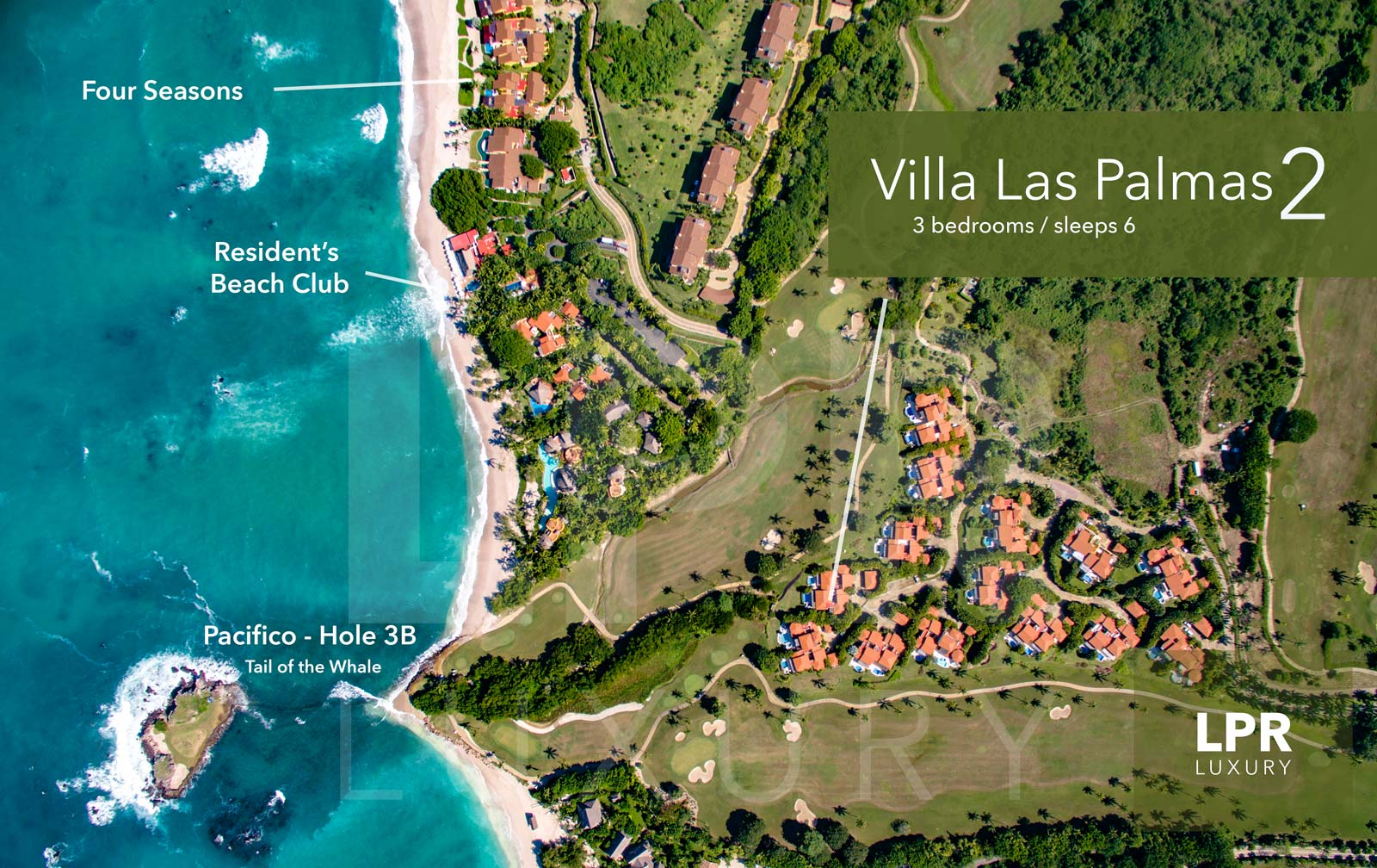 Villa Las Palmas 2 - Ocean view golf course villa at the Punta Mita Resort, Riviera Nayarit, Mexico - Vacation rentals and real estate