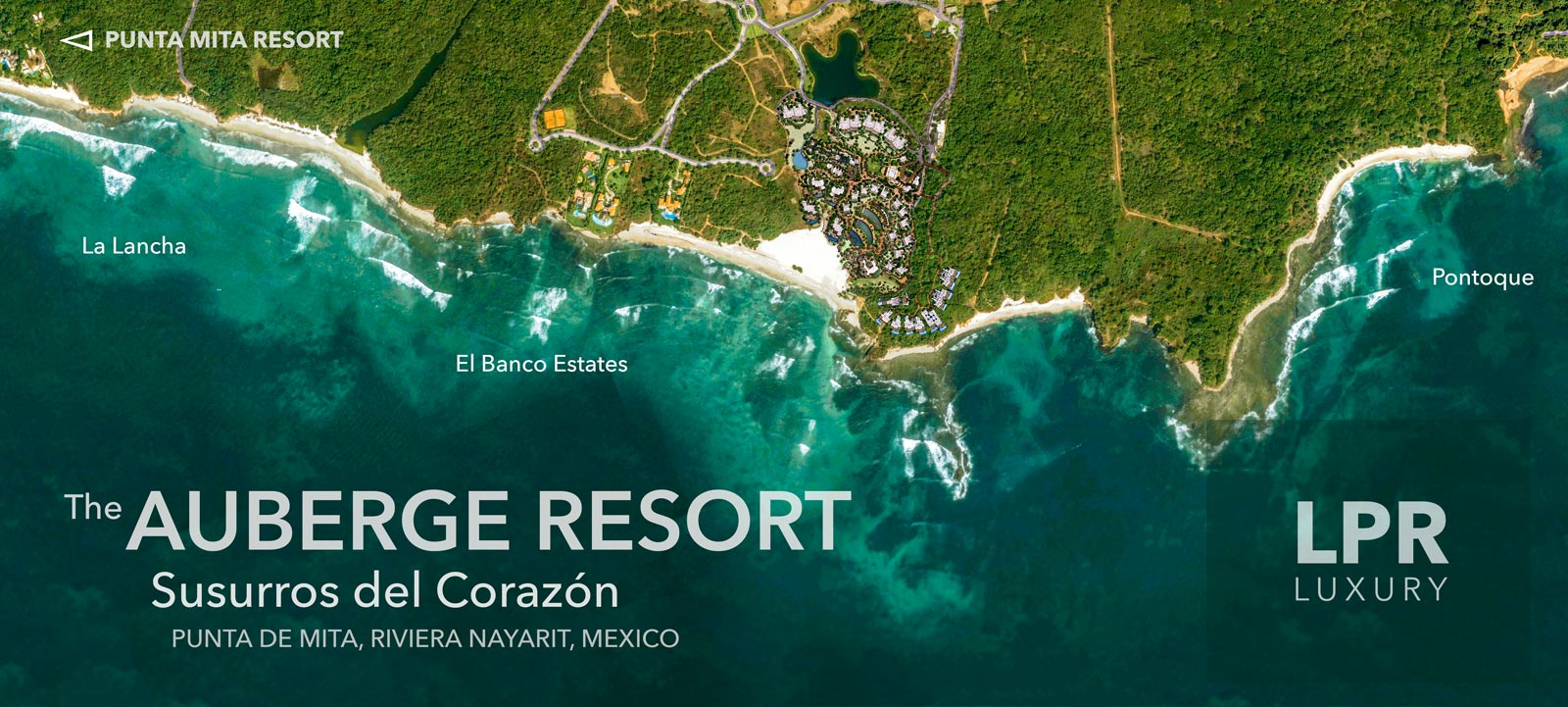 Auberge Resorts - Punta de Mita Susurros del Corazón - Luxury beachfront resort residences for sale - Luxury Real estate North of Puerto Vallarta, Mexico