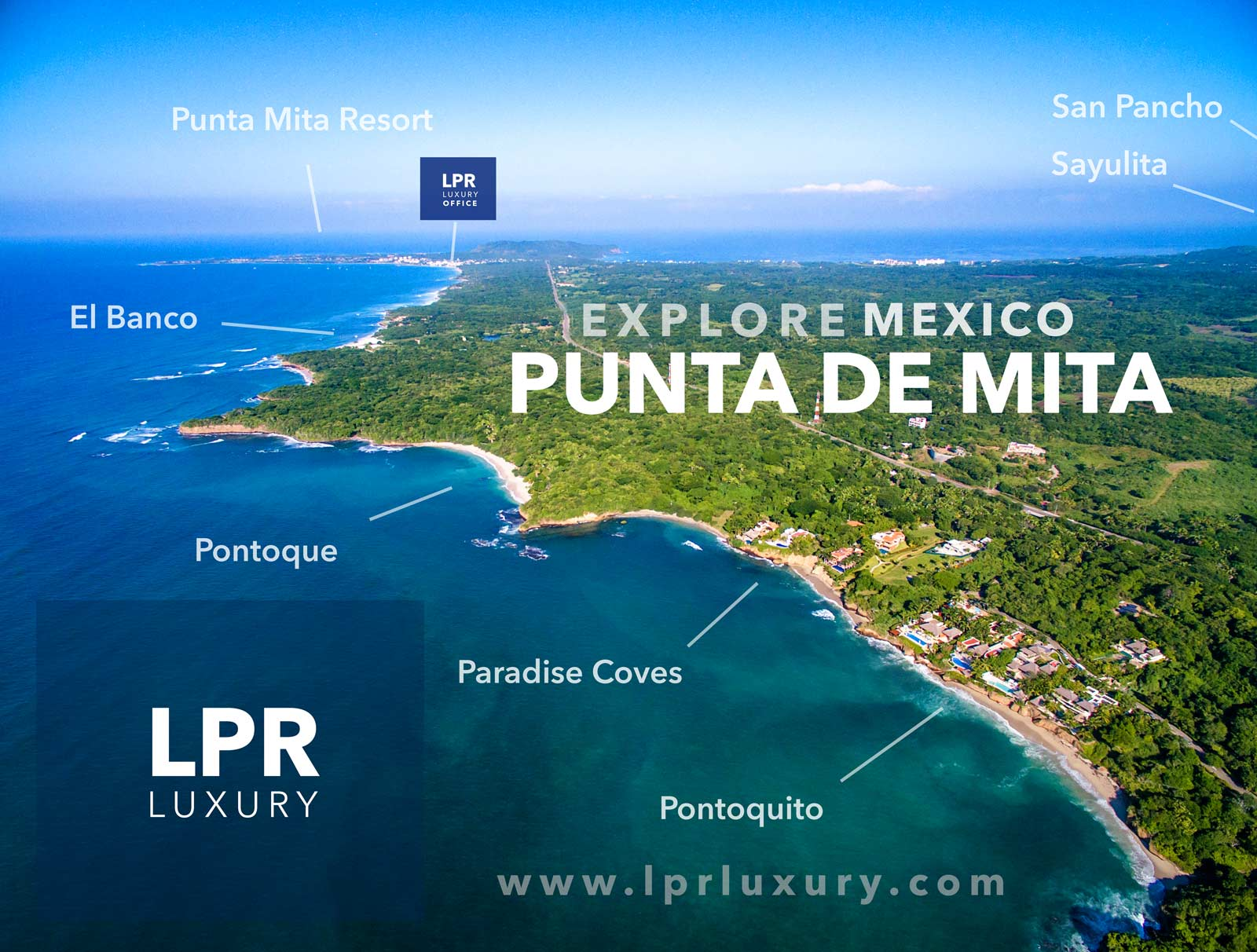 Explore the Punta de Mita peninsula - Riviera Nayarit, Mexico