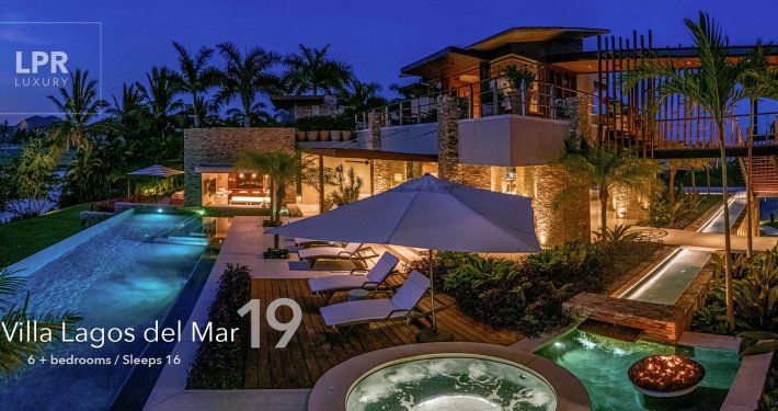 Villa Lagos del Mar 19 - Ultra cool luxury vacation rental villa on the Jack Nicklaus golf course at the St. Regis / Four Seasons - Punta Mita Resort, Riviera Nayarit, Mexico