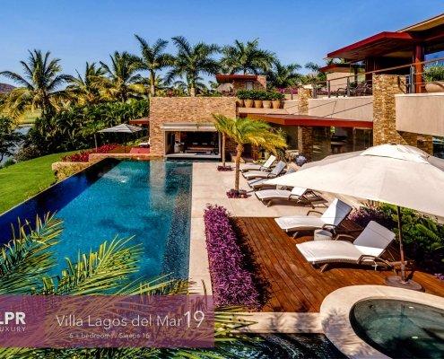 Villa Lagos del Mar 19 - Ultra cool luxury vacation rental villa on the Jack Nicklaus golf course at the St. Regis / Four Seasons - Punta Mita Resort, Riviera Nayarit, Mexico