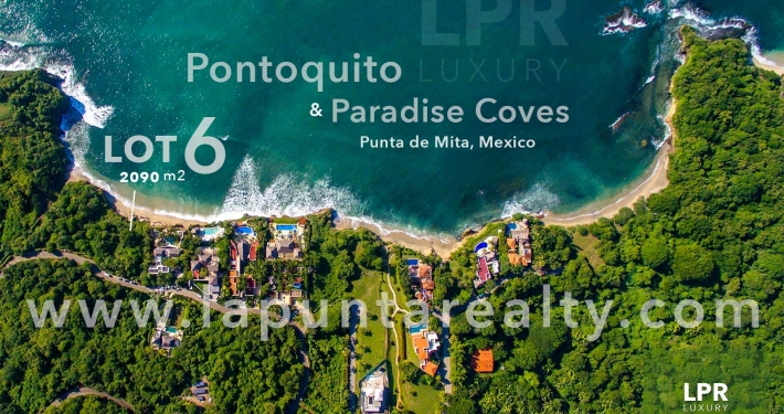 Pontoquito - Lot 6 - Punta de Mita luxury real estate