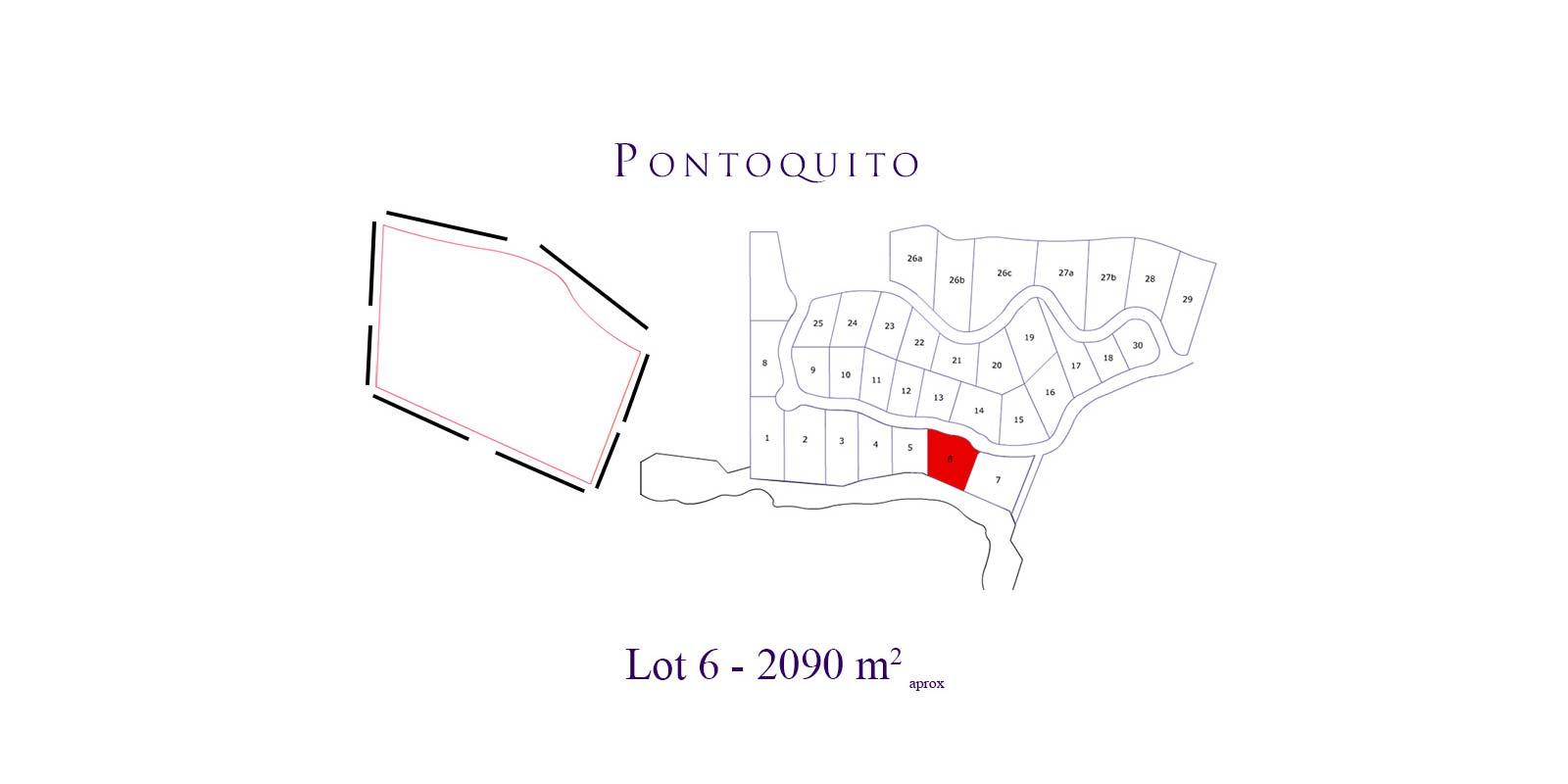 Pontoquito - Lot 6 - Punta de Mita luxury real estate