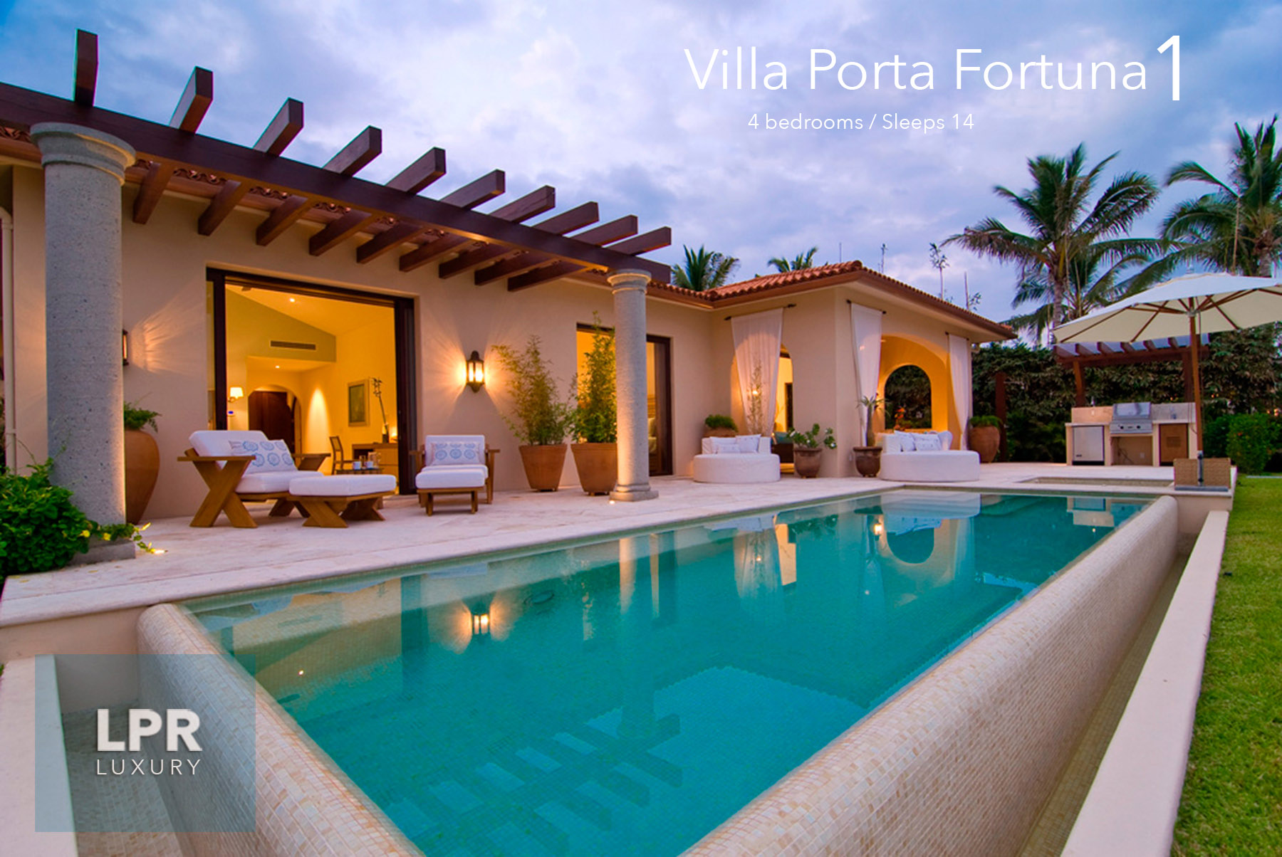 Villa Porta Fortuna 1 at the Punta Mita Resort, Riviera Nayarit, Mexico