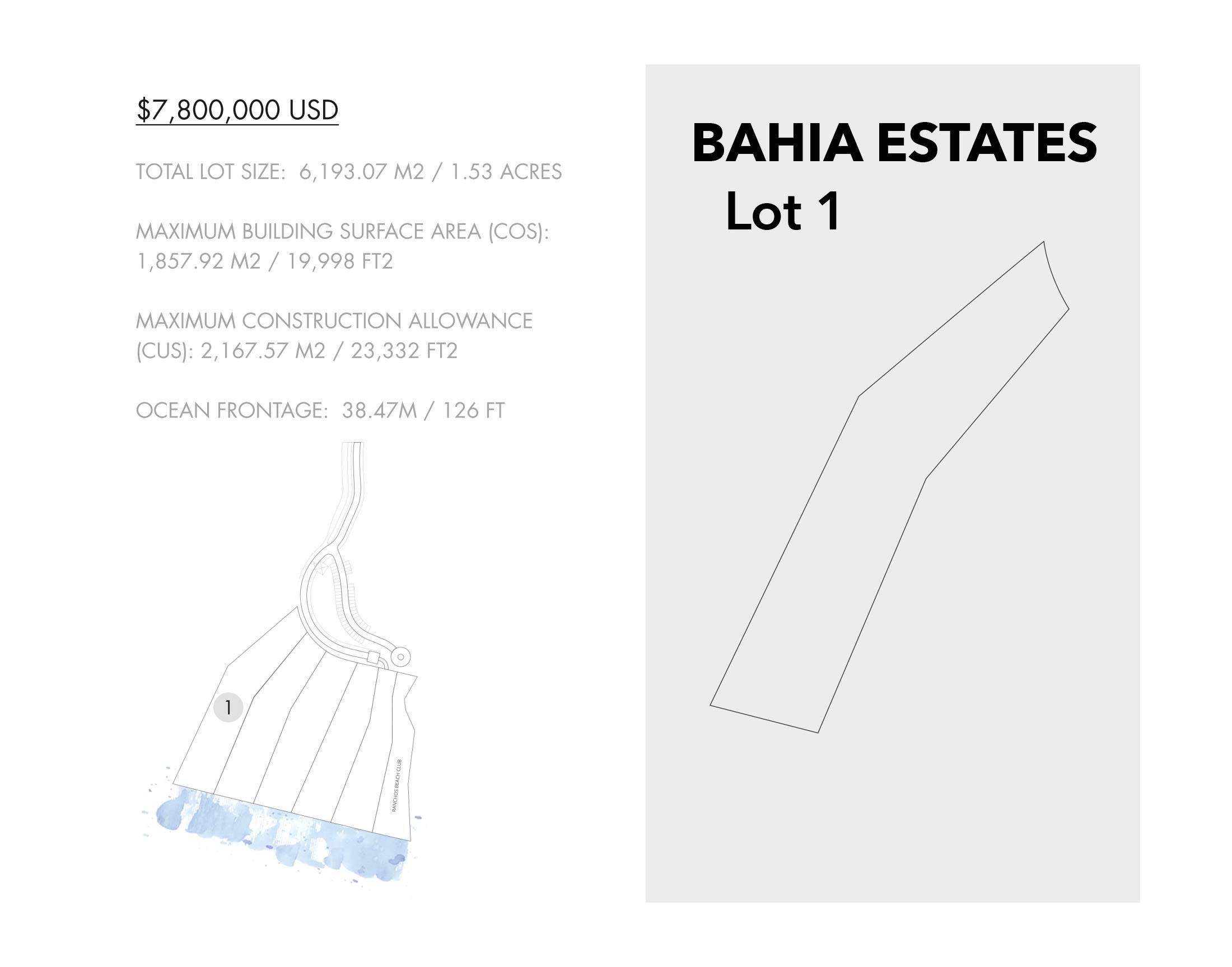 Luxury Estate Lots for Sale - Bahia Estates at the Punta Mita Resort, Riviera Nayarit, Mexico - Puerto Vallarta luxury real estate