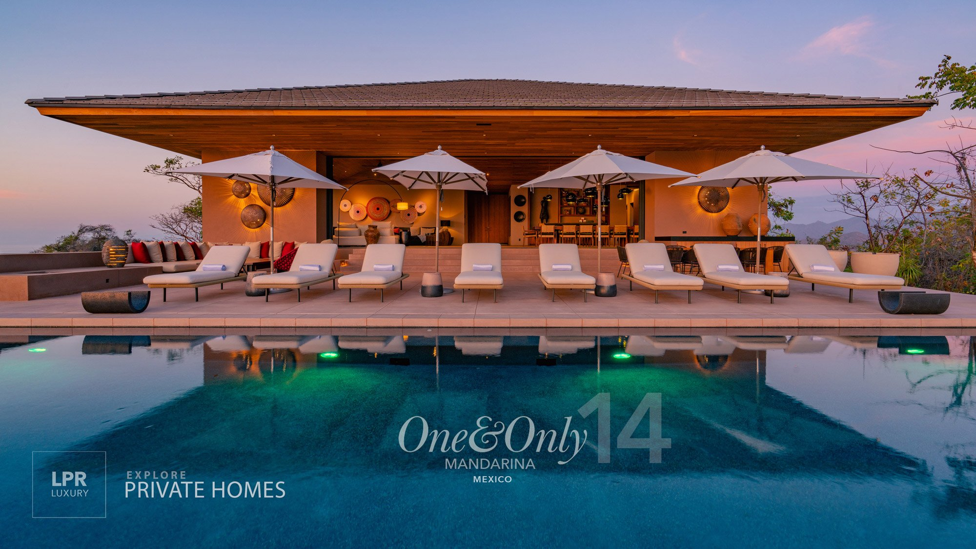 One&Only Villa 14 - Private Homes at One&Only Mandarina, Riviera Nayarit - One & Only Resort real estate