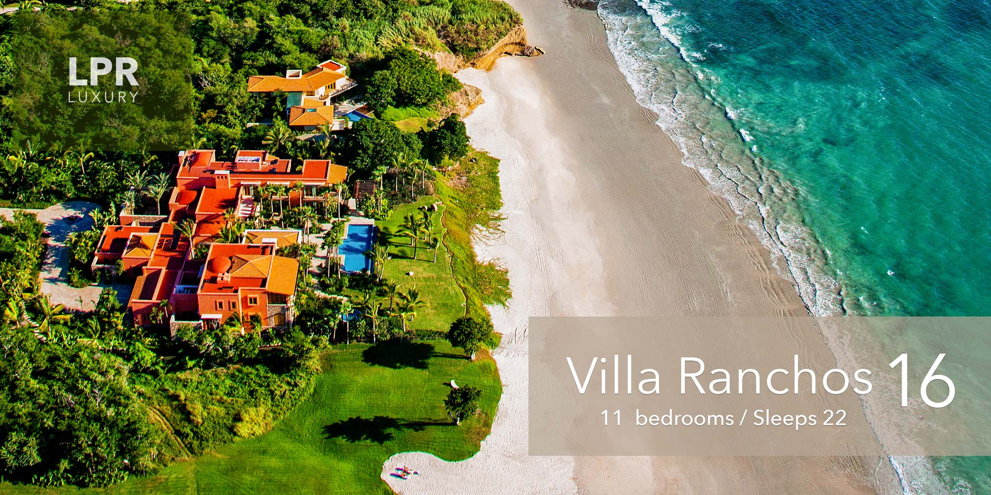 Villa Ranchos 16 - Ultra Luxury beachfront vacation rental villas for sale at the Punta Mita Resort - Punta Mita real estate