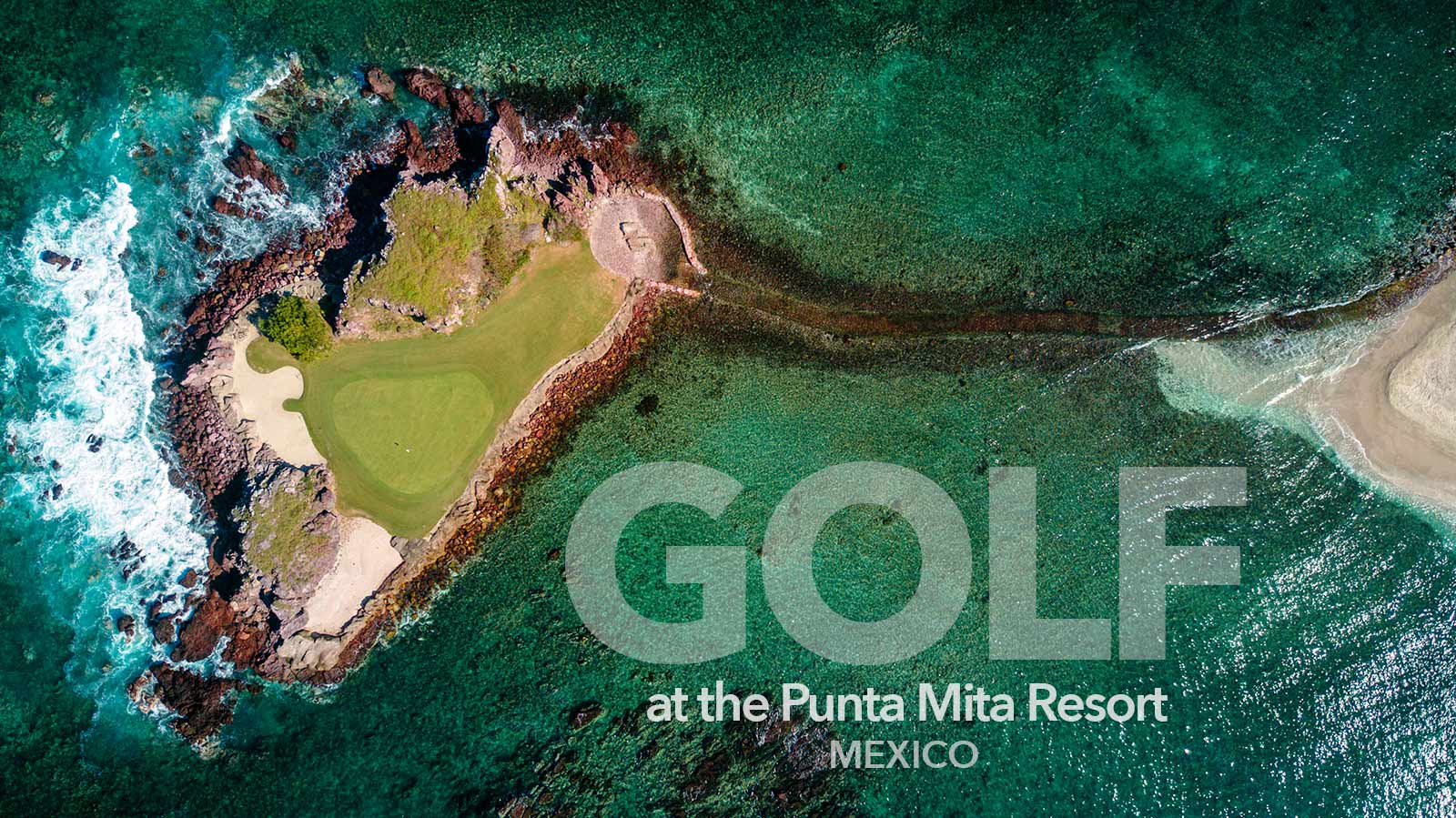 GOLF at the Punta Mita Resort - Explore the two Jack Nicklaus golf courses at the St. Regis / Four Seasons Resort - Riviera Nayarit, Mexico