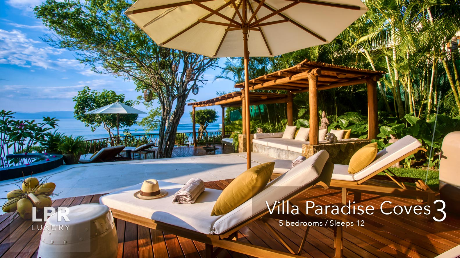 Villa Paradise Coves 3 - Luxury Punta de Mita Vacation Rental Villa - Riviera Nayarit, Mexico