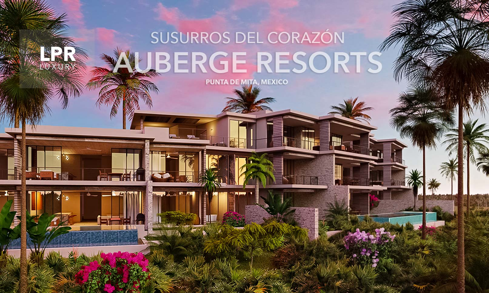 Auberge Resorts Punta de Mita Luxury VIllas, Riviera Nayarit, Mexico