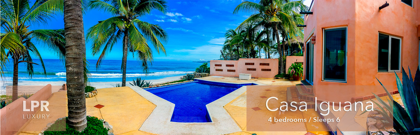 Casa Iguana - Higuera Blanca - Litibu- Punta de Mita beach front real estates for sale