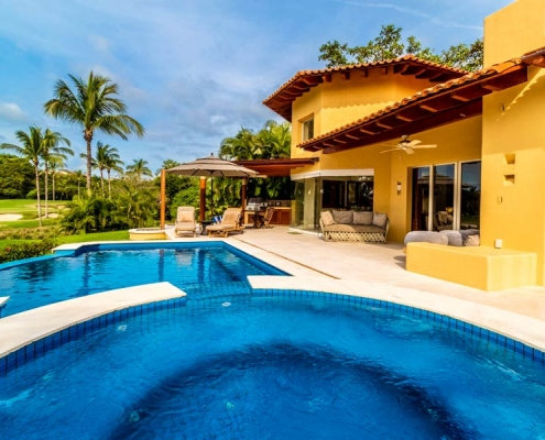 Villa Las Palmas 9 - Luxury vacation rental villa on the golf course at the St. Regis | Four Seasons - Punta Mita Resort, Riviera Nayarit, Mexico