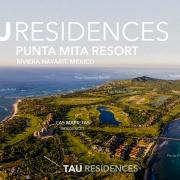 TAU Residences - Golf course condos on the Jack Nicklaus golf course, Punta Mita Resort, Riviera Nayarit, Mexico