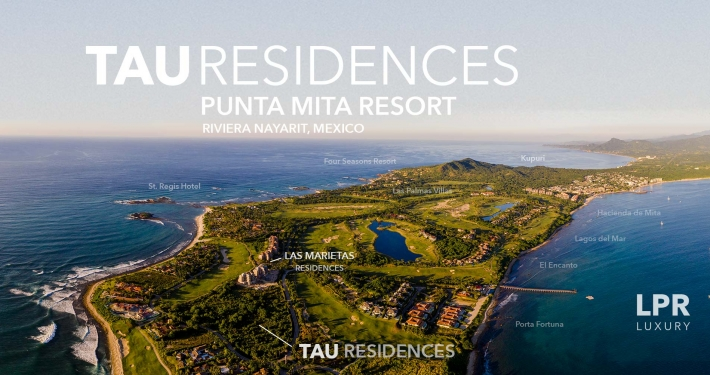 TAU Residences - Golf course condos on the Jack Nicklaus golf course, Punta Mita Resort, Riviera Nayarit, Mexico