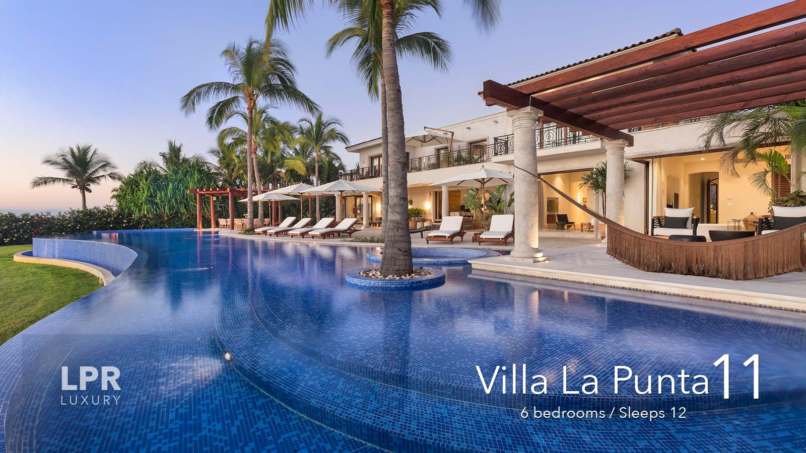 Villa La Punta 11 - Punta Mita Resort Luxury vacation rental villa