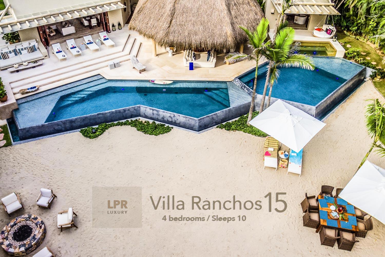 Villa Ranchos 15 - Punta Mita Resort Luxury vacation rental villa on Ranchos beach