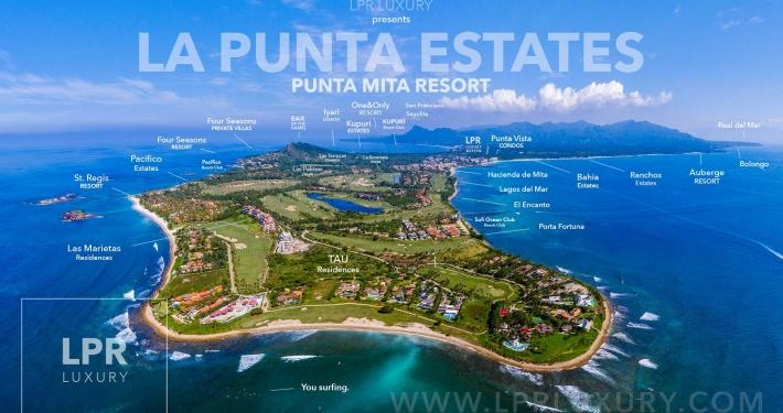 La Punta Estates - Luxury homes stie lots and villas next to the St. Regis, Punta Mita Resort, Riviera Nayarit, Mexico