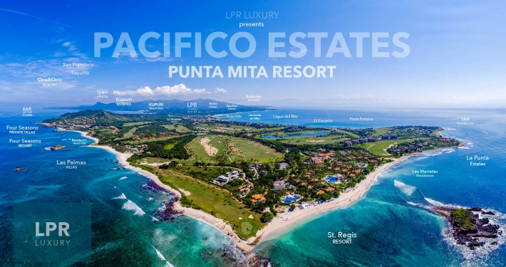 Pacifico Estates - Luxury homes stie lots and villas next to the St. Regis, Punta Mita Resort, Riviera Nayarit, Mexico