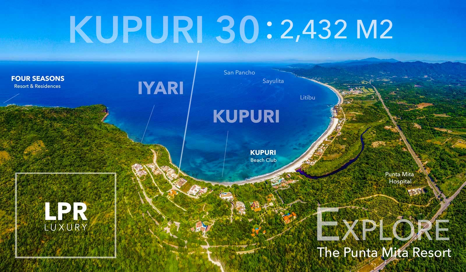 Kupuri Estates - Lot 30 - Punta Mita Resort - Riviera Nayarit, Mexico