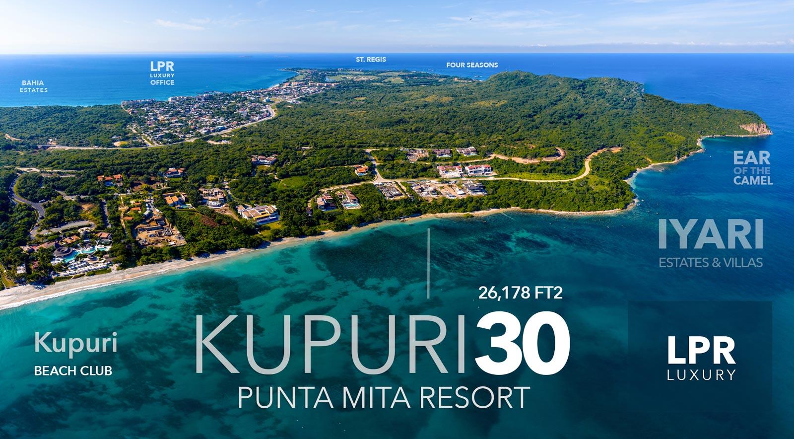 Kupuri Estates - Lot 30 - Punta Mita Resort - Riviera Nayarit, Mexico