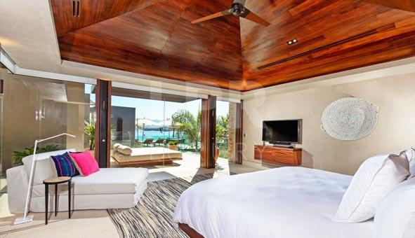 Villa Kupuri 30 - Luxury resort beachfront vacation rental home for sale at the Punta Mita Resort, Riviera Nayarit, Mexico real estate.