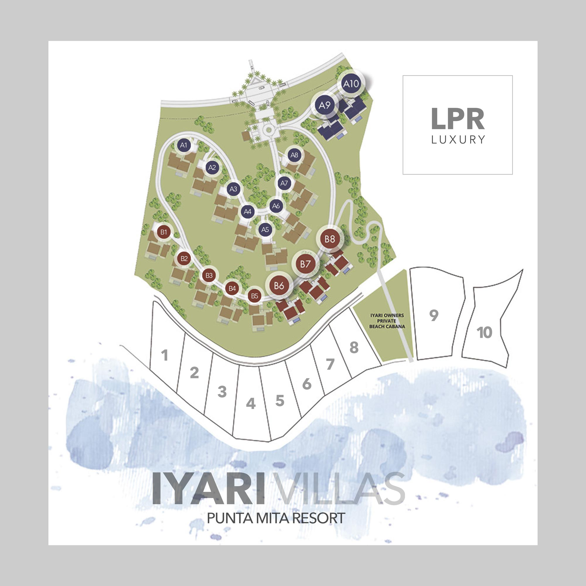 Iyari Estates & Villas - Luxury real estate at the Puta Mita Resort, Riviera Nayarit, Mexico