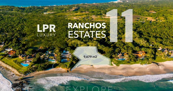 Ranchos Estates - Lot 11 - Punta Mita Resort luxury real estate for sale - Homesite building lots in Punta Mita