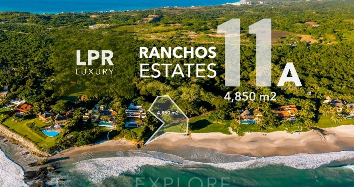 Ranchos Estates - Lot 11a - Punta Mita Resort luxury real estate for sale - Homesite building lots in Punta Mita