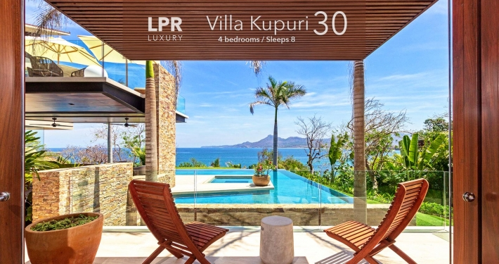 Villa Kupuri 30 - Luxury resort beachfront vacation rental home for sale at the Punta Mita Resort, Riviera Nayarit, Mexico real estate.