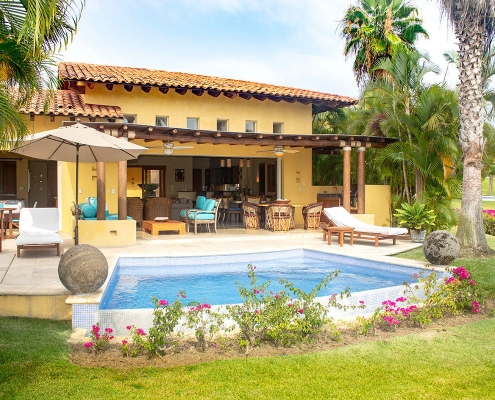 Villa Las Palmas 20 - Punta Mita resort golf course villa for sale - Punta Mita Properties - Real Estate - Mexico