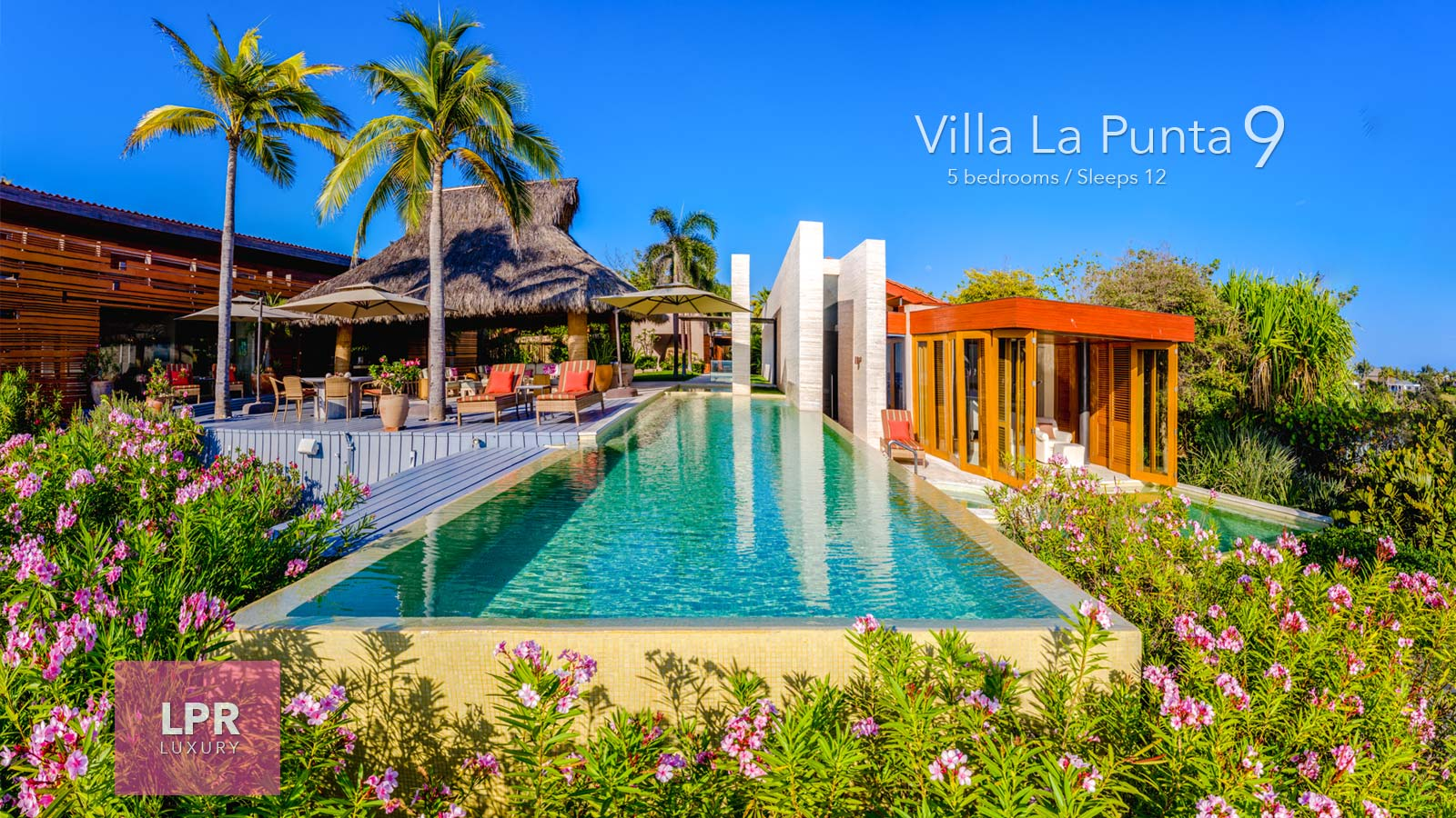 Villa La Punta 9 - Luxury beachfront vacation rental villa at the Punta Mita Resort, Riviera Nayarit, Mexico