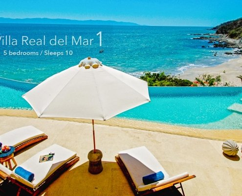 Villa Real del Mar 1 - Luxury vacation rental villa - North shore Puerto Vallarta, Real del Mar, Mexico