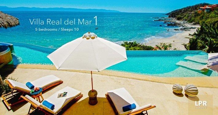 Villa Real del Mar 1 - Luxury vacation rental villa - North shore Puerto Vallarta, Real del Mar, Mexico
