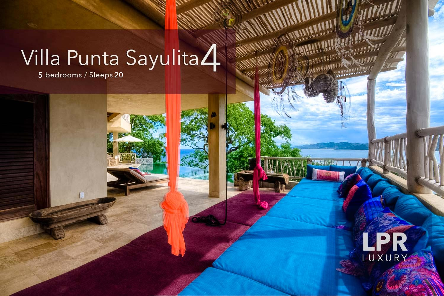 Villa Punta Sayulita 4 - Luxury vacation rental villa overlooking Sayulita, Riviera Nayarit, Mexico