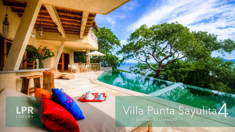 Villa Punta Sayulita 4 - Luxury vacation rental villa overlooking Sayulita, Riviera Nayarit, Mexico