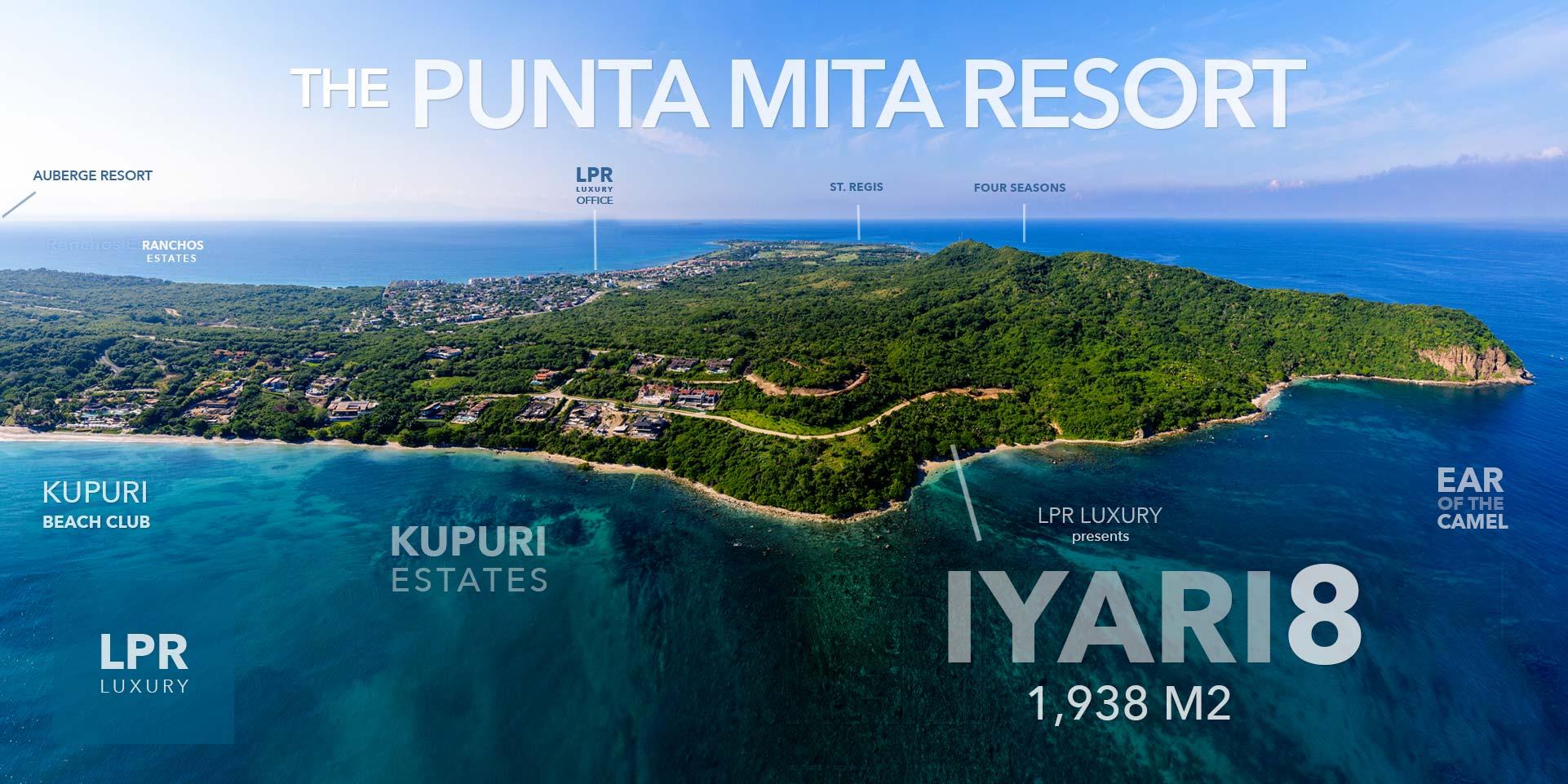 Iyari - Lot 8 - Punta Mita - Luxury real estate - Homes and homesite at the Punta Mita Resort