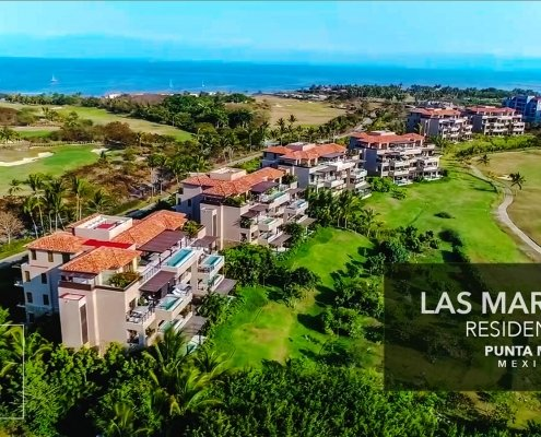 Las Marietas Residences - Luxury ocean view condos at the exclusive Punta Mita Resort, Riviera Nayarit, Mexico