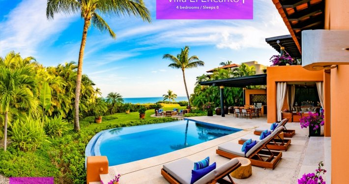 Villa El Encanto 1 - Luxury vacation rental resort real estate on the Jack Nicklaus golf course at the Four Seasons / St. Regis - Punta Mita Resort, Riviera Nayarit, Mexico