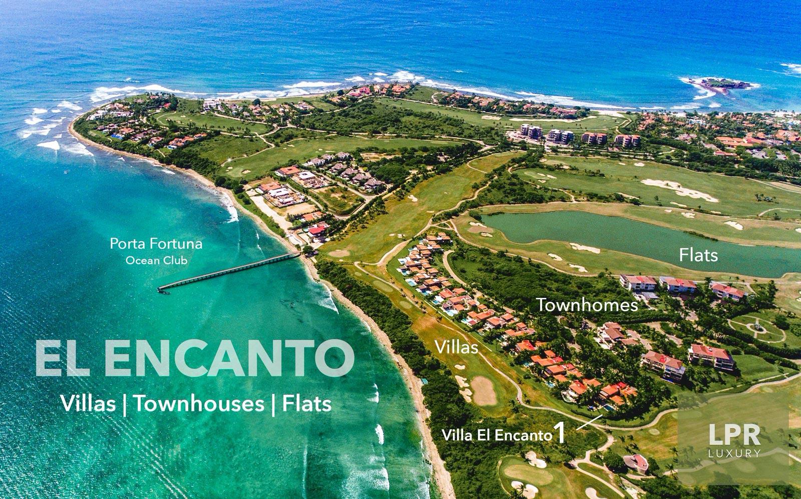 Villa El Encanto 1 - Luxury vacation rental resort real estate on the Jack Nicklaus golf course at the Four Seasons / St. Regis - Punta Mita Resort, Riviera Nayarit, Mexico