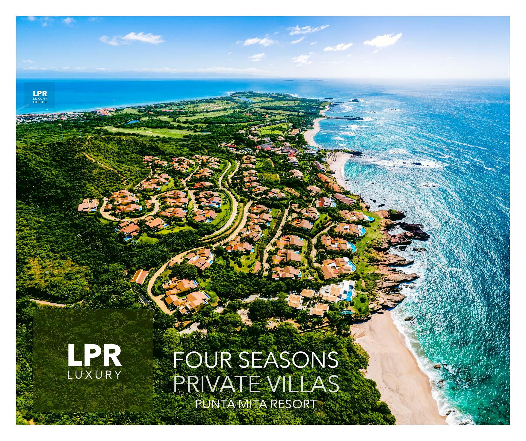 The Four Seasons Private Villas at the Punta Mita Resort, Rivierea Nayarit, Mexico
